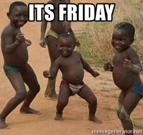 african children dancing - its friday