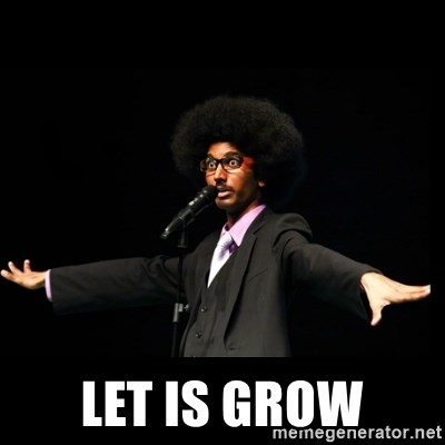 AFRO Knows -  let is grow