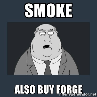 Family Guy Smoke - smoke also buy forge