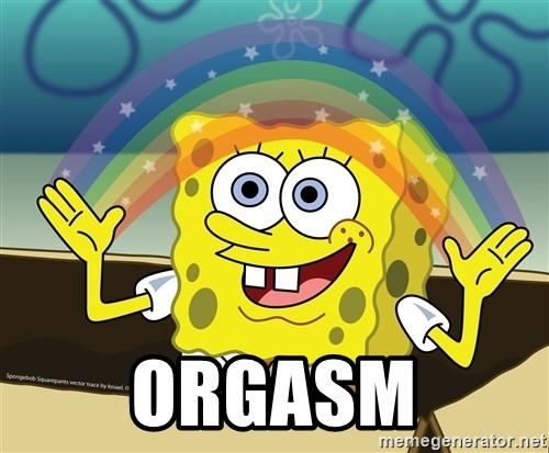 spongebob rainbow -  ORGASM