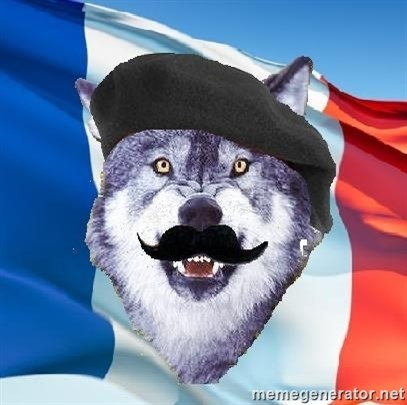 Monsieur Le Courage Wolf -