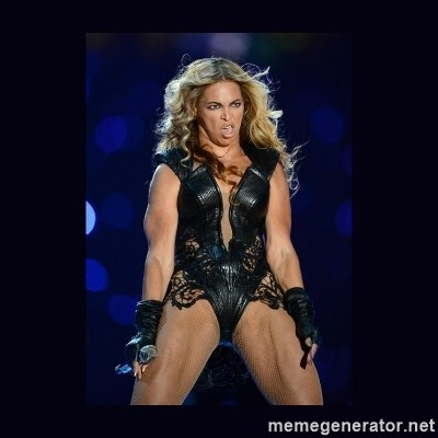 Beyonce derp -