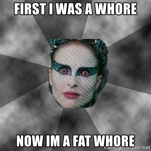 Black Swan Eyes - first i was a whore now im a fat whore