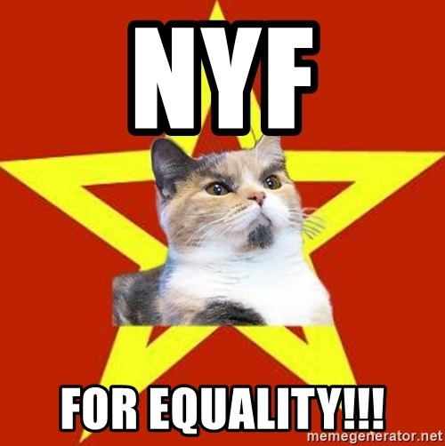 Lenin Cat Red - NYF For equality!!!