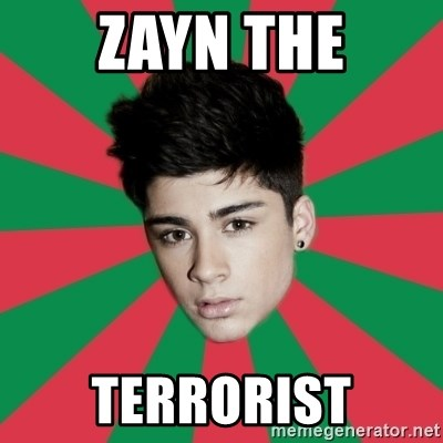 Typical Zayn - ZAYN THE TERRORIST