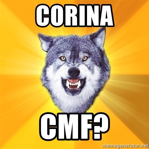 Courage Wolf - Corina cmf?