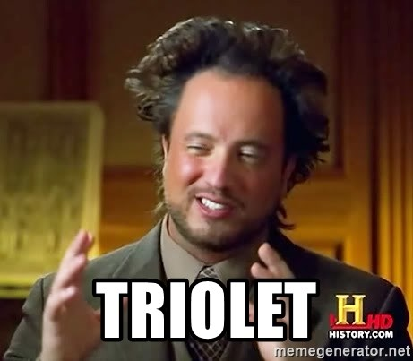 Ancient Aliens -  TRIOLET