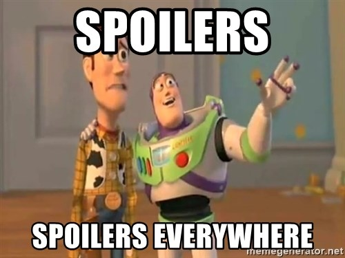 X, X Everywhere  - Spoilers Spoilers everywhere
