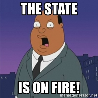 ollie williams - The State is on fire!