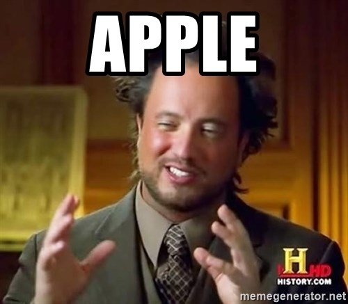 Ancient Aliens - apple
