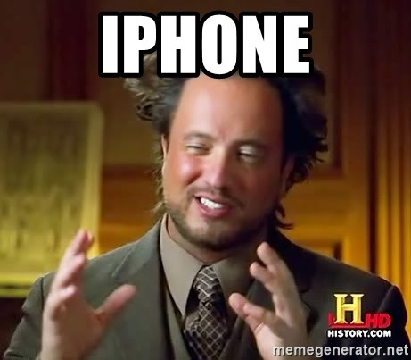 Ancient Aliens - Iphone