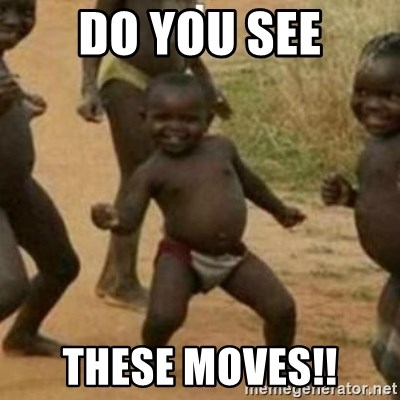 Black Kid - DO YOU SEE THESE MOVES!!