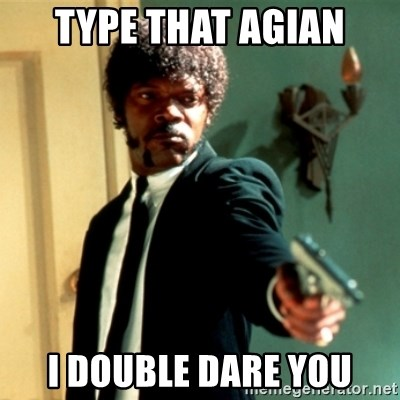 Jules Say What Again - Type that agian i double dare you