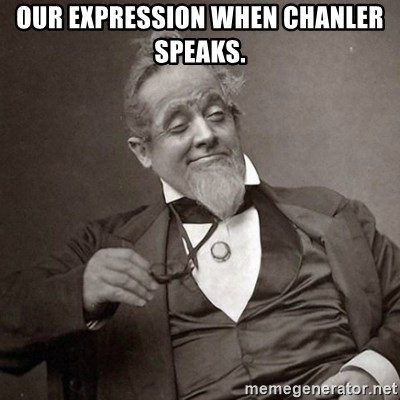 1889 [10] guy - OUR EXPRESSION WHEN CHANLER SPEAKS.
