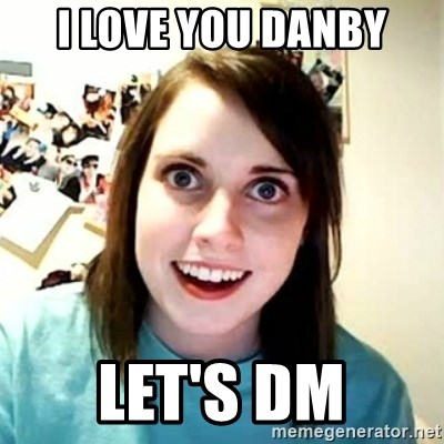 Overly Attached Girlfriend 2 - I love you danby Let's DM