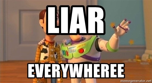 Consequences Toy Story - Liar Everywheree