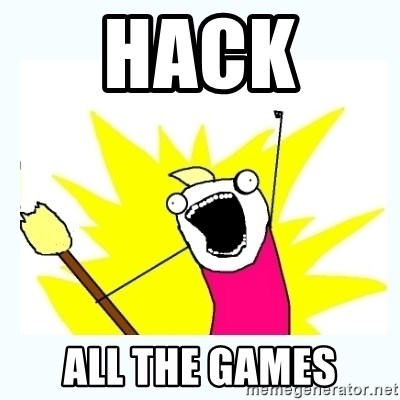 All the things - hack  all the games