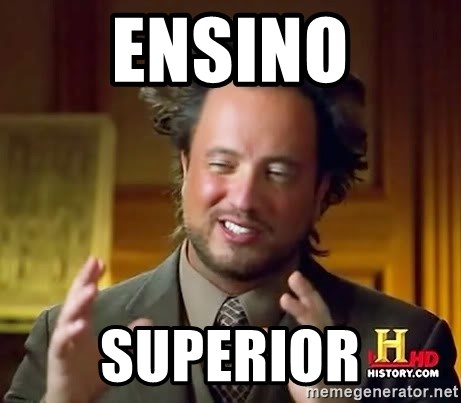 Ancient Aliens - ensino superior