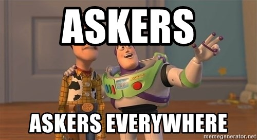 Toy Story Everywhere - askers askers everywhere