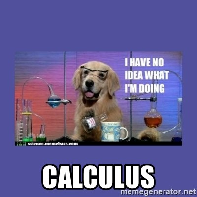 I don't know what i'm doing! dog -  Calculus