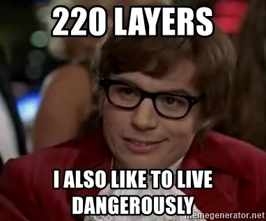 Austin Power - 220 Layers i also like to live dangerously