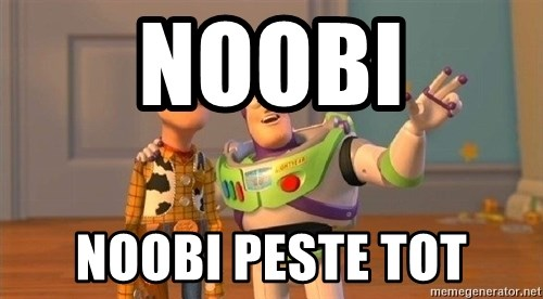 Consequences Toy Story - Noobi noobi peste tot