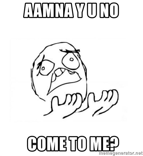 WHY SUFFERING GUY 2 - Aamna Y u No  come to me?