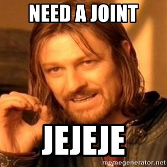 One Does Not Simply - need a joint jejeje