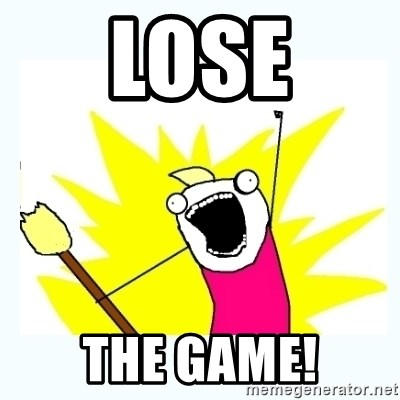 All the things - Lose The Game!