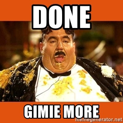 Fat Guy - DONE  GIMIE MORE