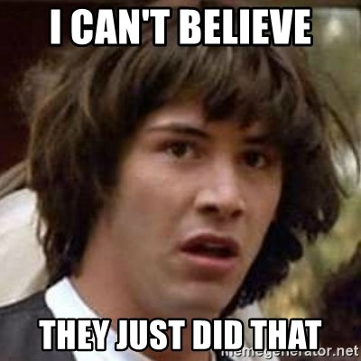 Conspiracy Keanu - I Can't believe They just did that