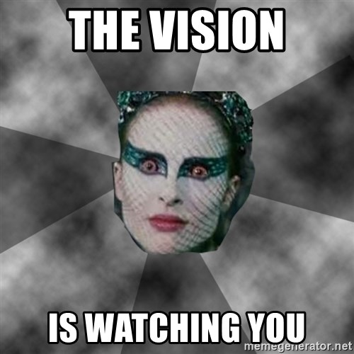 Black Swan Eyes - THE VISION IS WATCHING YOU