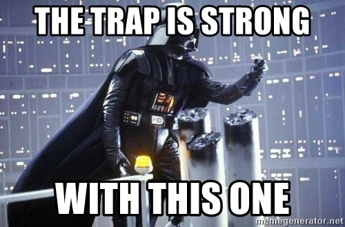 Darth Vader Shaking Fist - The trap is strong with this one
