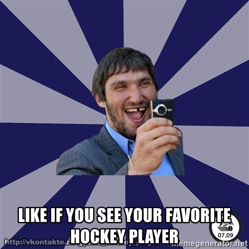 typical_hockey_player -  LIKE IF YOU SEE YOUR FAVORITE HOCKEY PLAYER