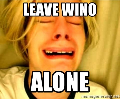 Leave Brittney Alone - leave wino ALONE
