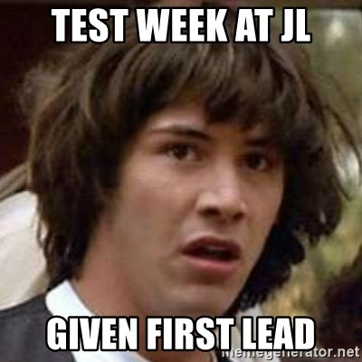 Conspiracy Keanu - Test Week At JL Given First Lead