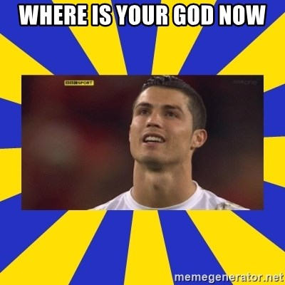 CRISTIANO RONALDO INYUSTISIA - where is your god now