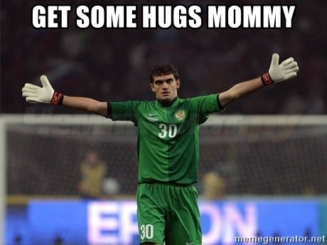 Real Goalkeeper - Get some hugs Mommy