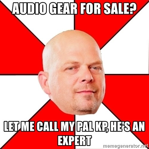 Pawn Stars - Audio Gear For Sale? Let me call my pal KP, he's an expert