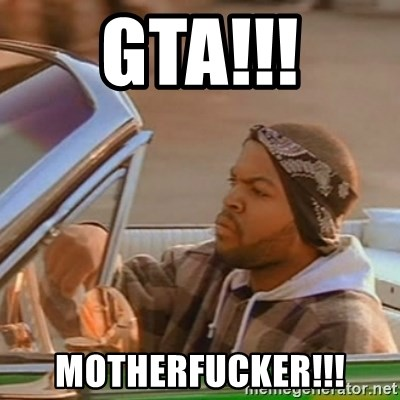 Good Day Ice Cube - GTA!!! MOTHERFUCKER!!!