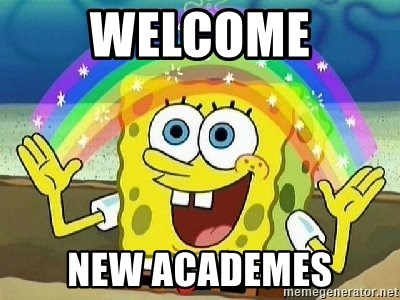 Imagination - WELCOME NEW ACADEMES