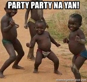african children dancing - party party na yan!