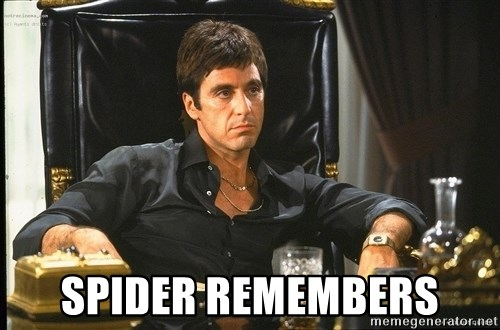 Scarface -  Spider Remembers