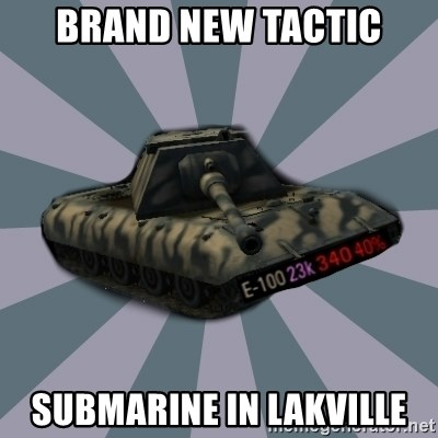 TERRIBLE E-100 DRIVER - BRAND NEW tactic Submarine in Lakville
