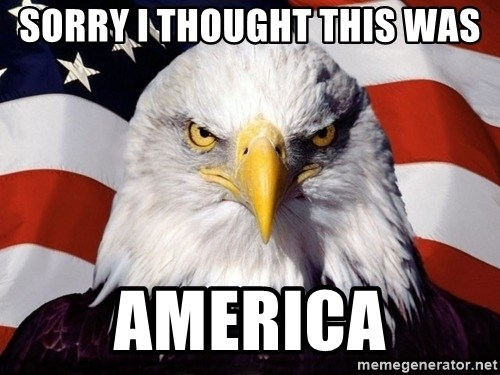 American Pride Eagle - Sorry I thought this was AMERICA