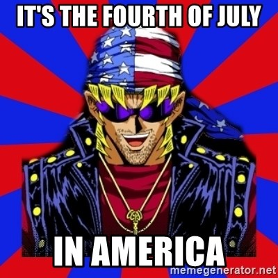 bandit keith - It's the fourth of July In america