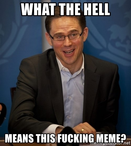 Katainen Perkele - What the hell means this fucking meme?