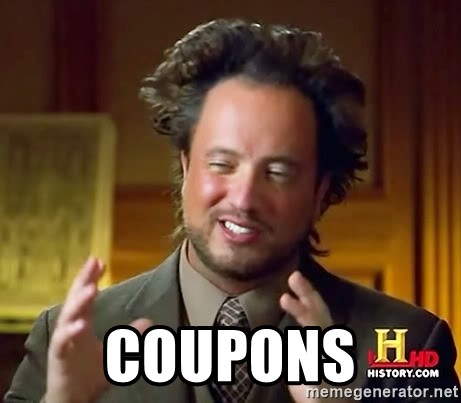 Ancient Aliens -  Coupons