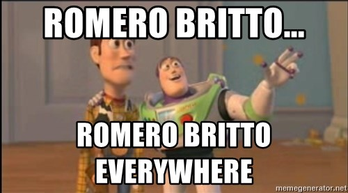 X, X Everywhere  - Romero Britto... Romero Britto                   EVERYWHERE