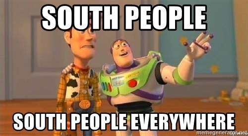 Woody and Buzz HD - South People South People Everywhere